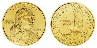 Sacagawea Gold Dollar Value Chart 2000 P Sacagawea Dollar Goodacre Presentation Finish Golden