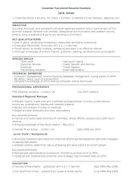 Canada Resume Examples Resume Samples Bold Design Functional The