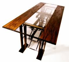 contemporary industrial furniture. custom made dining table contemporary industrial furniture f