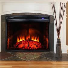 fireplace view best electric insert reviews decor modern cool and room design ideas inserts infrared wall