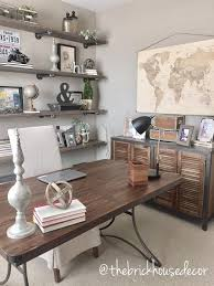 office diy ideas. Exellent Diy World Market Furniture Home Office Decor Desk Side Table Diy Pipe  Shelves Linen Chair Office Map Vintage Industrial Farmhouse Throughout Office Diy Ideas R