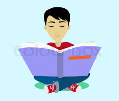 student sits and reads a book boy is a reading big book reading kid reading student kid reading open book sitting