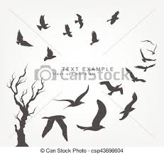 birds flying in the sky silhouette. Delighful Birds Wedge Of Birds Flying In Sky  Csp43698604 To Birds Flying In The Sky Silhouette T