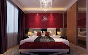Red Bedroom Curtains Modern Red Bedroom Design Of Ideas Black And Wallpaper For Trends