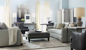 Bernhardt living room furniture Rustic Modern Graybernhardtsofawithikeaottomanoncozy Gallery Furniture Furniture Elegant Livin Room Furniture Design With Cozy Bernhardt