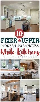 Modern Kitchen White Cabinets 25 Best Ideas About Modern White Kitchens On Pinterest White