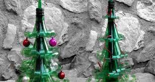 Decoration With Plastic Bottles 60 DIY Alternative Christmas Tree Ideas for Festive mood 44