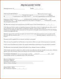 Promissory Note Word Template Promissory Note Templates Word Template Business