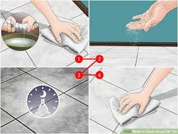 image titled clean grout off tile step 7