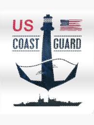 Us Coast Guard Day Shirt American Flag Vintage Uscg Tshirt T Shirt Poster