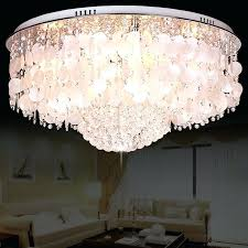 mother of pearl chandelier 7 light crystal flush mount with white mother of pearls chandelier ceiling