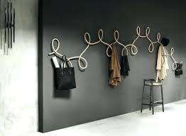 wall mounted coat hooks modern wall coat rack modern coat racks archives throughout rack prepare 3 wall mounted coat hooks