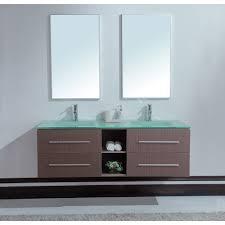bathroom vanity 60 inch: calypso  inch modern double sink bathroom vanity unique grey oak