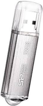 Купить <b>USB</b>-<b>накопитель Silicon Power</b> Ultima II 32GB Silver по ...