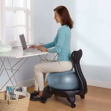 exercise ball desk chair office