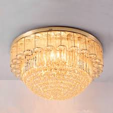 36w luxury gold color remote dimming led ceiling lamp 220v