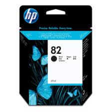 <b>HP 82 Black</b> Ink Cartridge - Office Depot