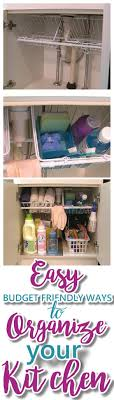 cheap kitchen ideas. Modren Cheap EASY Budget Friendly Ways To Organize Your Kitchen  The Very Best CHEAP  Quick Tips On Cheap Ideas