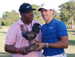 Golfer Cameron Champ is going places ...