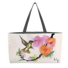 hummingbird gifts tote