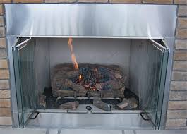 fireplace efficiency with glass doors ezinearticles