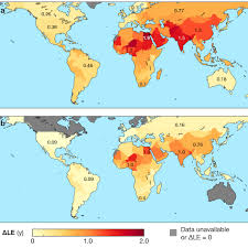 World Pollution Chart Air Pollution Reduces Global Life Expectancy By More Than