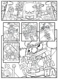 Lego Superhero Coloring Pages Superhero Coloring Pages H Dc On