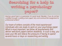 psychology term paper topics 13 essay academy com