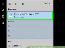 Word Avery How To Print Avery Labels In Microsoft Word On Pc Or Mac