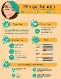 designer infographic resume