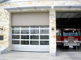 glass aluminum overhead door
