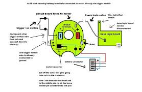 dyson dc16 cordless alternative powering options fix modding diagram showing how to use the trigger switch to directly power the motor