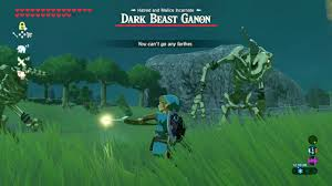 Light Bow Botw Leaving Beast Ganon Mid Fight With Bow Of Light Zelda Breath Of The Wild