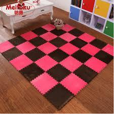 meitoku eva foam interlocking exercise gym exercise floor play puzzle mat shu velveteen flooring tile 10pcs lot each30x30cm in play mats from toys hobbies