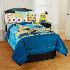 Minion Bedroom Decor Despicable Me Minions Bedding Sheet Set Walmartcom