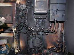 new reg 421 1 201 metal consumer units electrician s blog electrical fire damage from faulty cut out