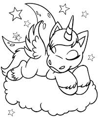 Unicorns Magical Crafts Lillys Party Unicorn Coloring Pages
