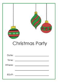Printable Christmas Party Invitations Printable Christmas Party