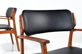 perfect vine teak dining chairs fresh industrial leather dining chair best erik buck model od 49