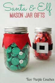 diy office gifts. santa u0026 elf christmas mason jar gifts diy office y
