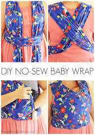 How to Make Your Own No-Sew Moby Wrap | New Baby Advice | Pinterest ...
