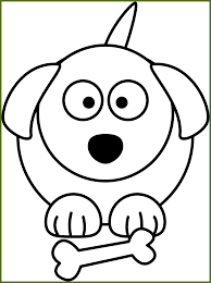 cute dog clipart black and white. Plain And Best Dog Clipart Black And White Clip Art For Cute Trends Style Dog  In U
