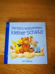 Neu Buch Herzlich Willkommen Kleiner Schatz Sprüche Geburt In