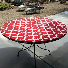 round vinyl tablecloths round vinyl tablecloth with elastic watch more like outdoor round fitted vinyl tablecloths