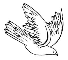 dove flying clipart. Plain Dove Descending Dove Clipart Throughout Flying T