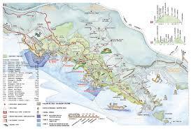 cinque terre map