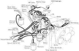 repair guides vacuum diagrams vacuum diagrams autozone com 18 emission system component layout and vacuum diagram 1988 22r engine california