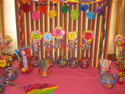 Candy Decorations Candy Party Making The Decorations Candy Party Candy Land