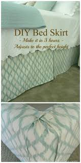 a fun diy way to give your bed and bedding a really nice finishing detail while hiding your ugly boxspring do it yourself today fun diy