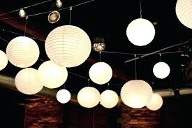 hanging paper ball lights light shades diy outdoor covers